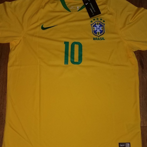 official photos 3ada6 fb300 Nike Brazil Neymar Jr 10 Jersey NWT